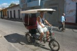 Fiets-taxi Cuba