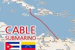 Glasvezelkabel van Venezuela naar Cuba