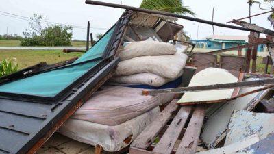 Orkaan Irma treft Cuba zwaar